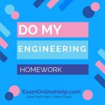 Do My Engineering Homework