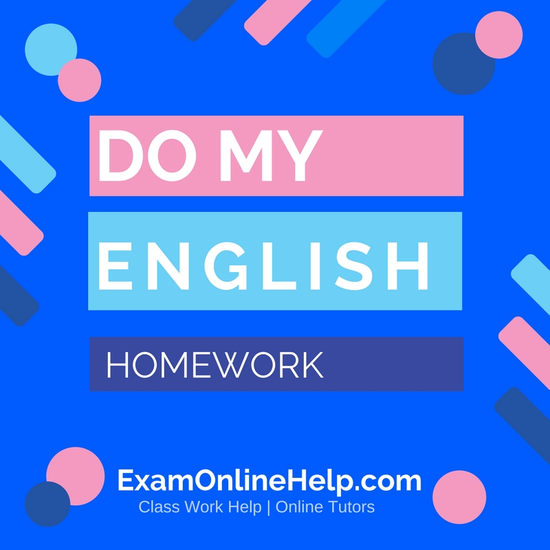 Homework help writing live