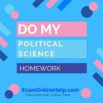 Do My Political Science Homework