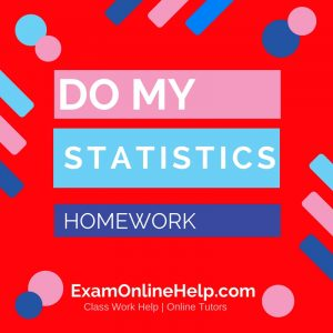 Do My Statistics Homework