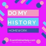Do my History Homework