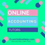 Online Accounting Tutors