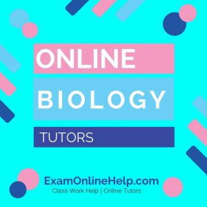 Online Biology Tutors