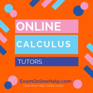 Online Calculus Tutors