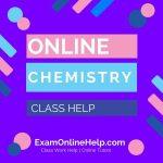 Online Chemistry Class Help