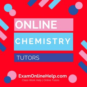Online Chemistry Tutors