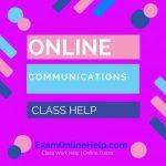 Online Communications Class Help