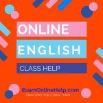 Online English Class Help
