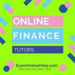 Online Finance Tutors