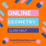 Online Geometry Class Help