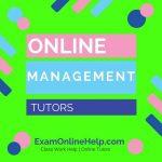 Online Management Tutors