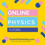 Online Physics Tutors