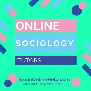 Online Sociology Tutors