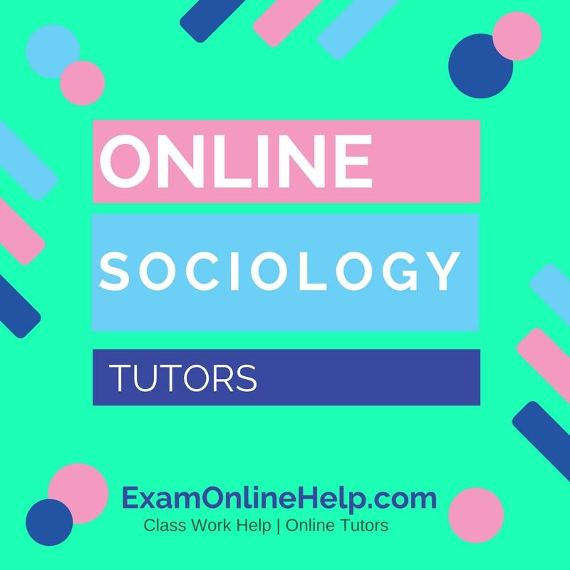 A level sociology homework help