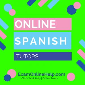 Online Spanish Tutors