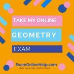 Take My Online Geometry Exam