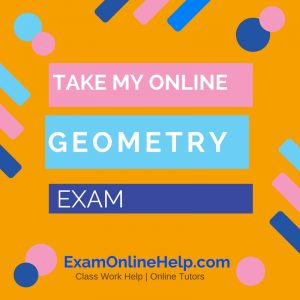 Take My Online Geometry Exam