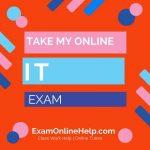 Take My Online Information Technology Exam