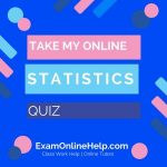 Take My Online Statistics Exam