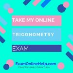 Take My Online Trigonometry Exam