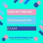 Take My Online Trigonometry Exam