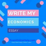 Write My Economics Essay