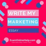 Write My Marketing Essay