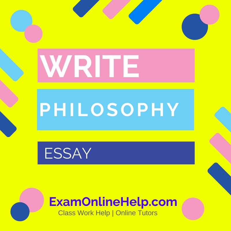 Help write philosophy of mind paper