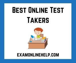 Best Online Test Takers