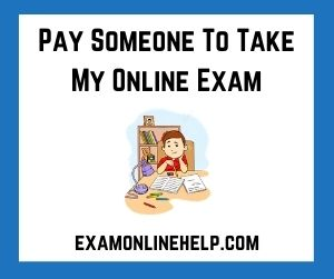Pay Someone To Take My Online Exam